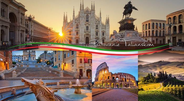 Krížom-krážom po apeninskom poloostrove - Benátky, Verona, Lago di Garda, Florencia a Rím. Vyberte sa na zájazd do Talianska s návštevou toho najkrajšieho, čo táto krajina ponúka.