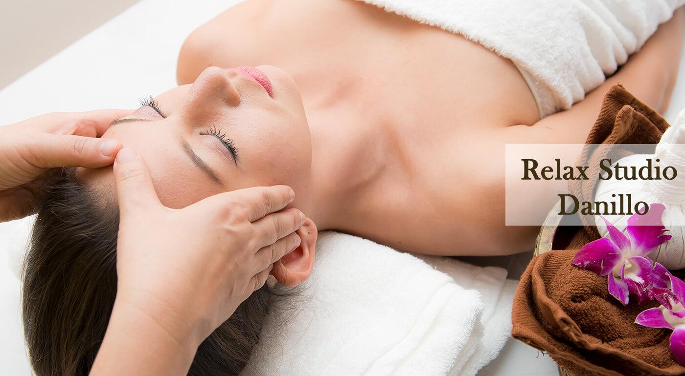 Ajurvédska masáž tváre a hlavy v Relax Studiu Danillo v Petržalke