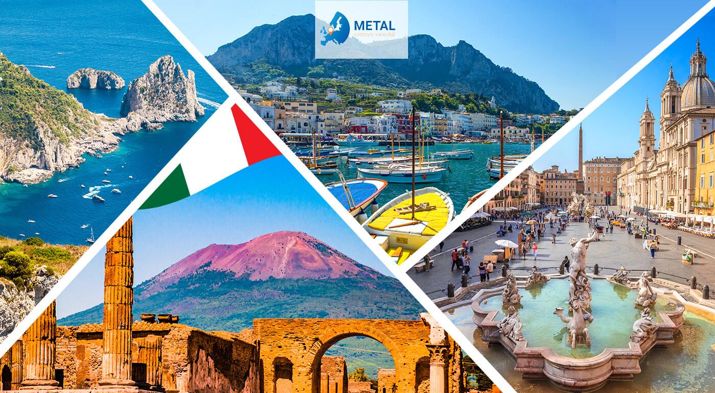 Taliansko: Putovanie po mestách Rím, Vatikán, Vezuv, Pompeje, Herculaneum, Capri a Neapol počas 5 dní