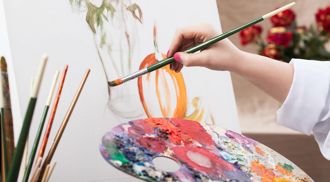 2-dňové kurzy maľby podľa vlastného výberu - olej na plátne, akryl, technika akvarelu alebo suchého pastelu