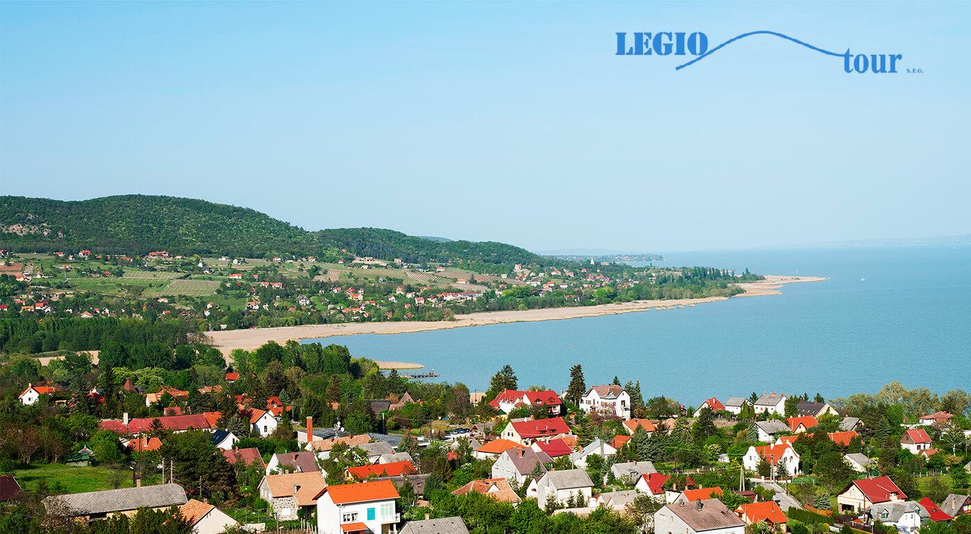Maďarsko: Kúpanie sa v jazere Balaton na jeden deň