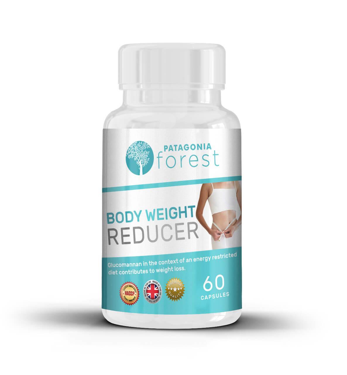 Patagonia Forest Body weight reducer - prírodná redukcia telesného tuku 1x 60 kapsúl