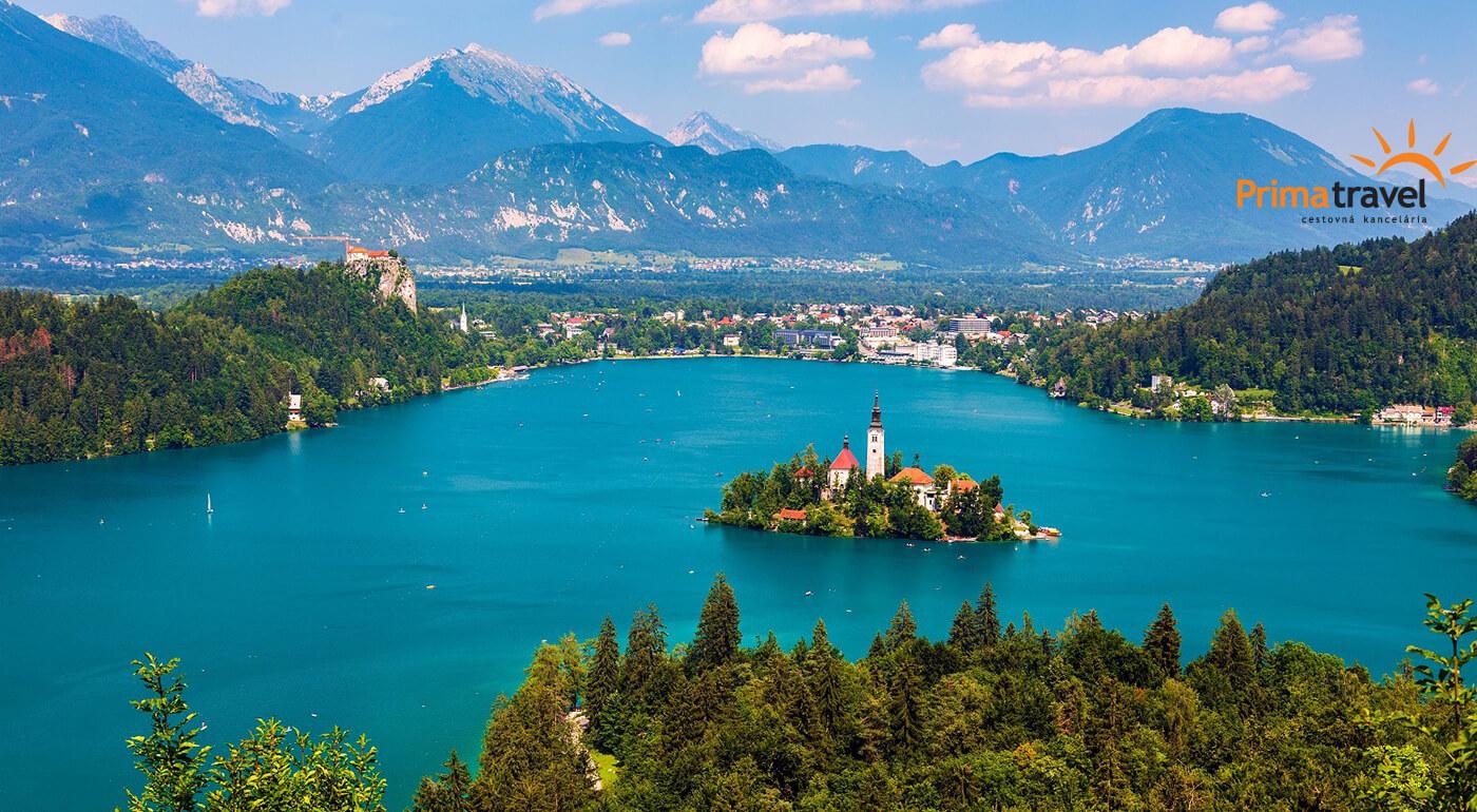 Slovinsko: 3-dňový poznávací zájazd s návštevou romantického jazera Bled