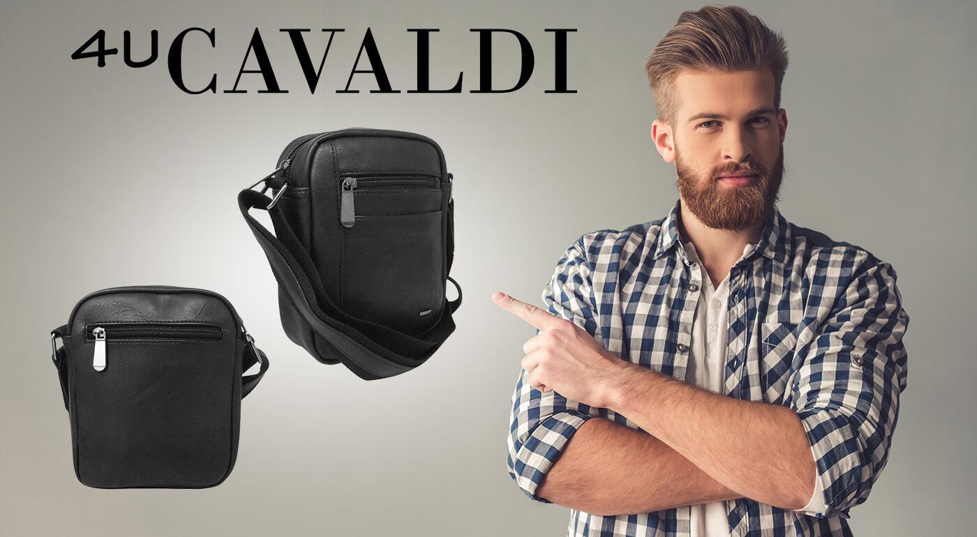 Pánska taška Cavaldi s nastaviteľným popruhom cez rameno
