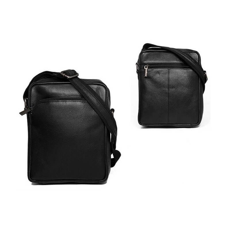 Always Wild 5742-NDM-PA pánska celokožená taška (šírka 19 cm x výška 22 cm x hĺbka 6 cm)