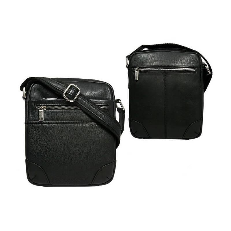 Always Wild 22403-NDM pánska celokožená taška (šírka 17 cm x výška 20 cm x hĺbka 5 cm)