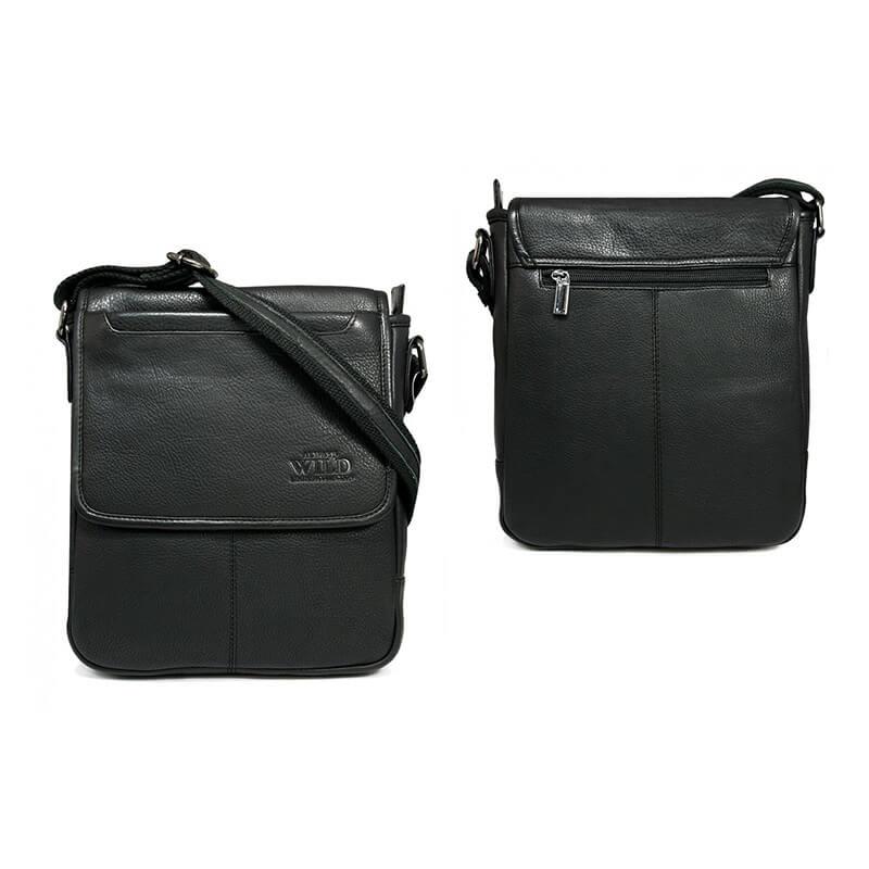 Always Wild 013-NDM pánska celokožená taška (šírka 23 cm x výška 27 cm x hĺbka 6 cm)
