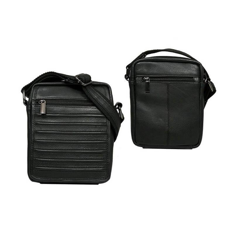 Always Wild 1114-NDM pánska celokožená taška (šírka 14 cm x výška 18 cm x hĺbka 8 cm)