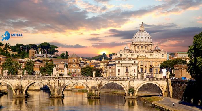 Pamiatkový Rím s kúpaním pri mori