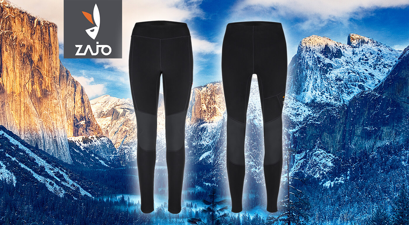 Zateplené trekové nohavice ZAJO Dachstein - voľnosť pohybu legín a odolnosť turistických nohavíc