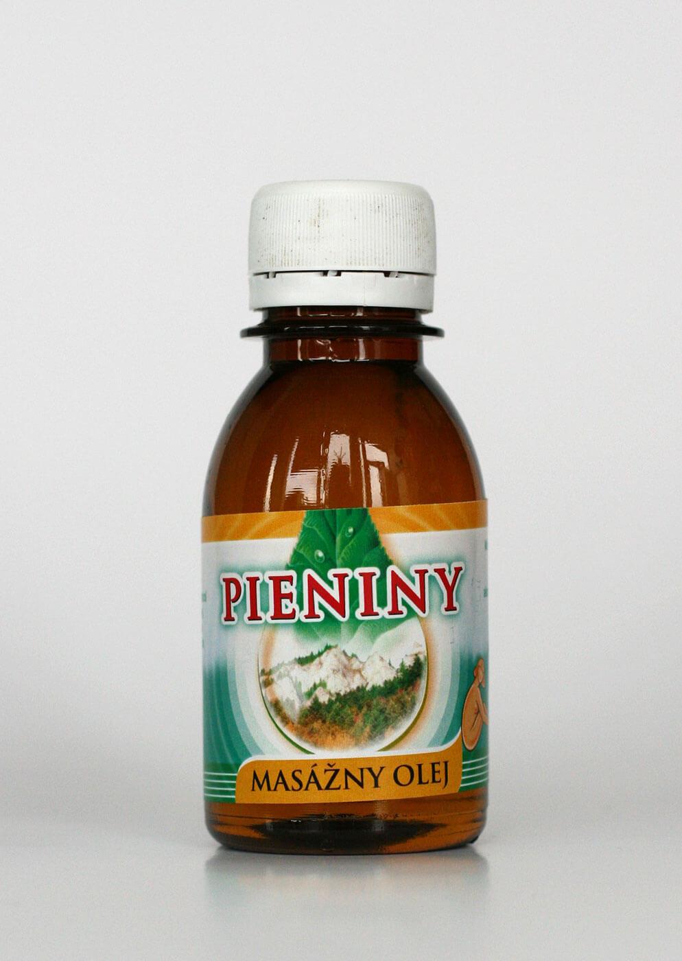 Masážny olej Pieniny (0,1l)