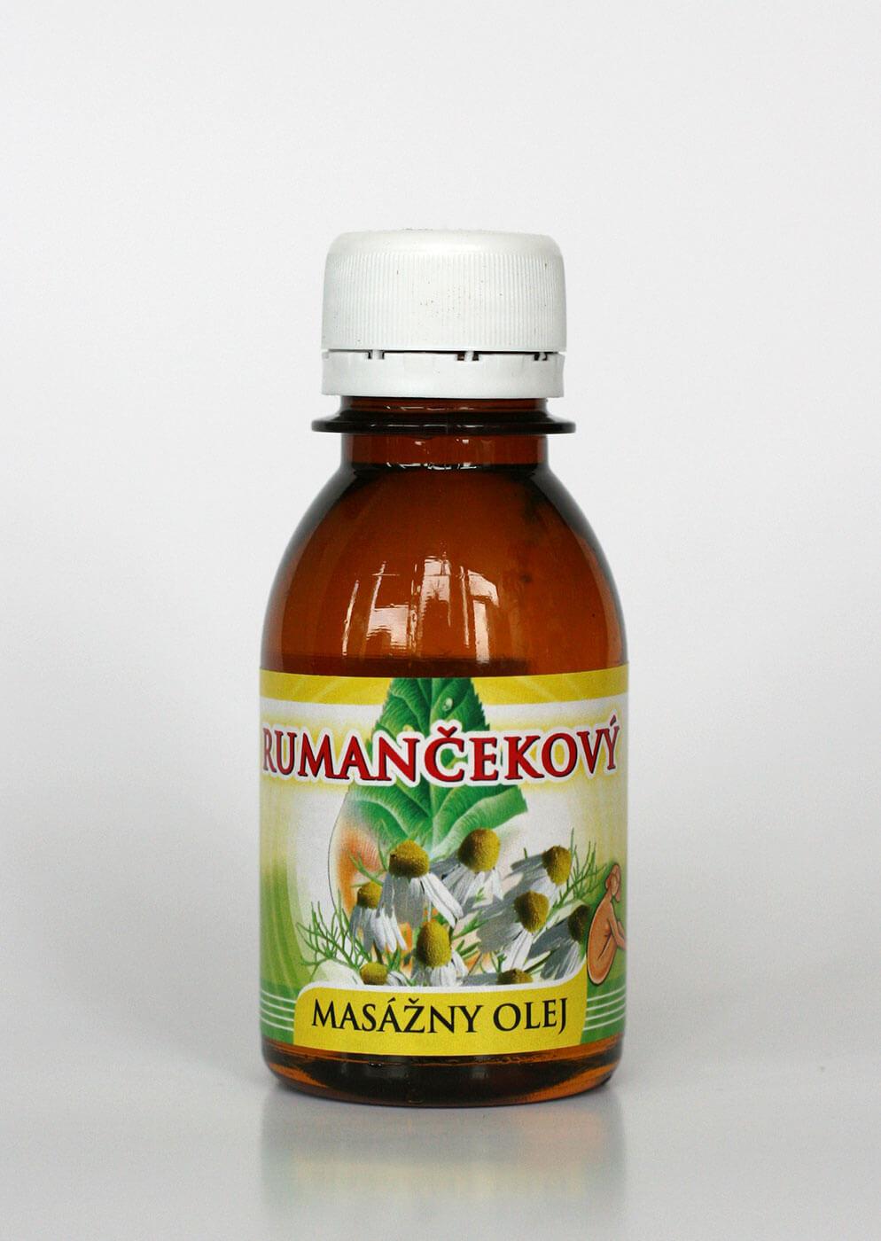 Agrokarpaty Masážny olej rumančekový (0,1l)