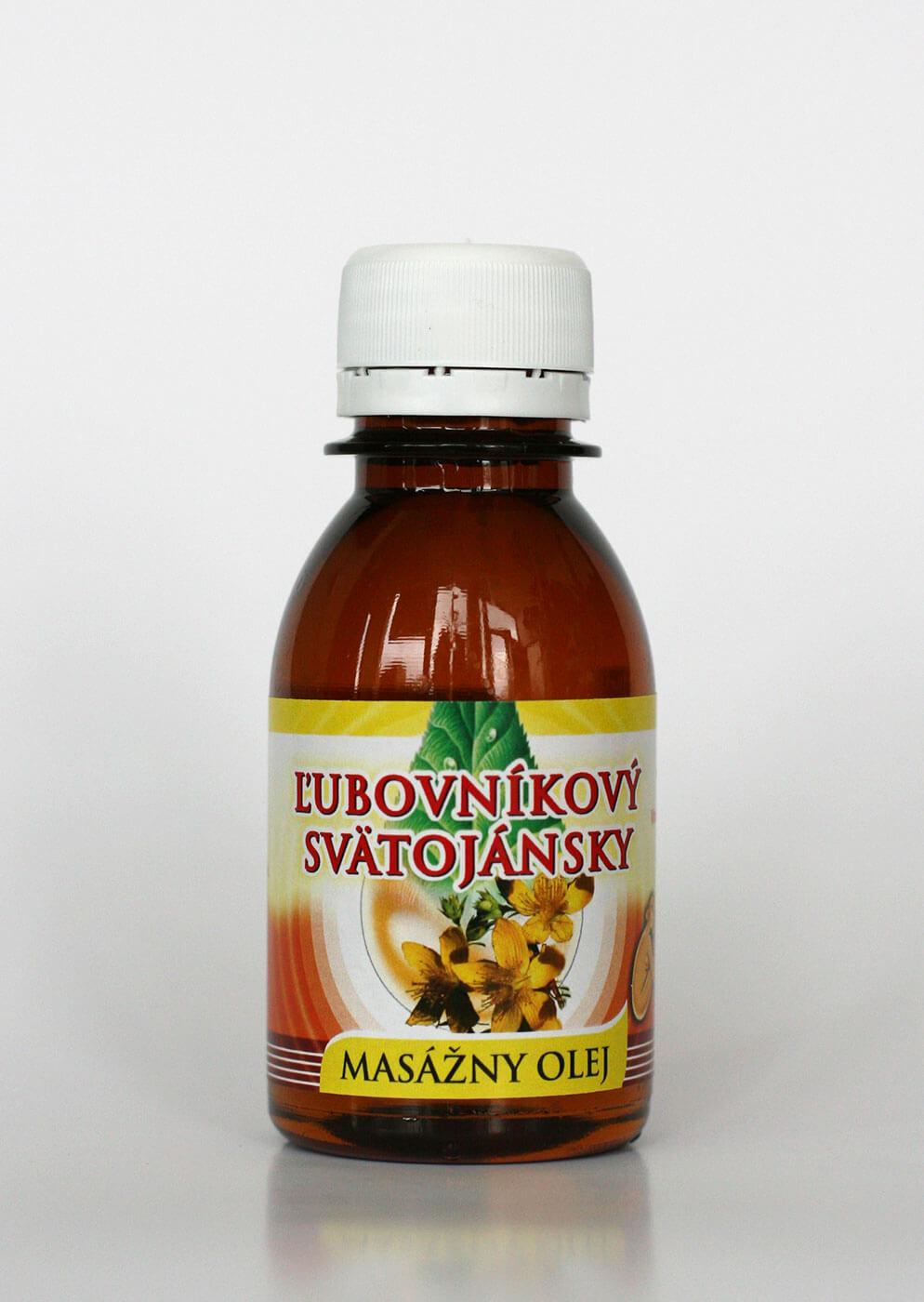 Agrokarpaty Masážny olej ľubovníkový - svätojánsky (0,1l)