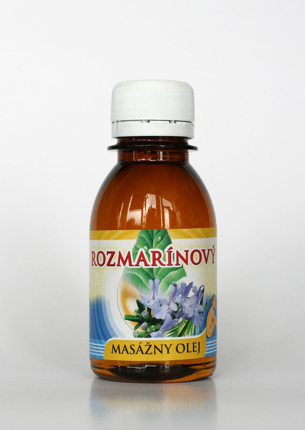 Agrokarpaty Masážny olej rozmarínový (0,1l)