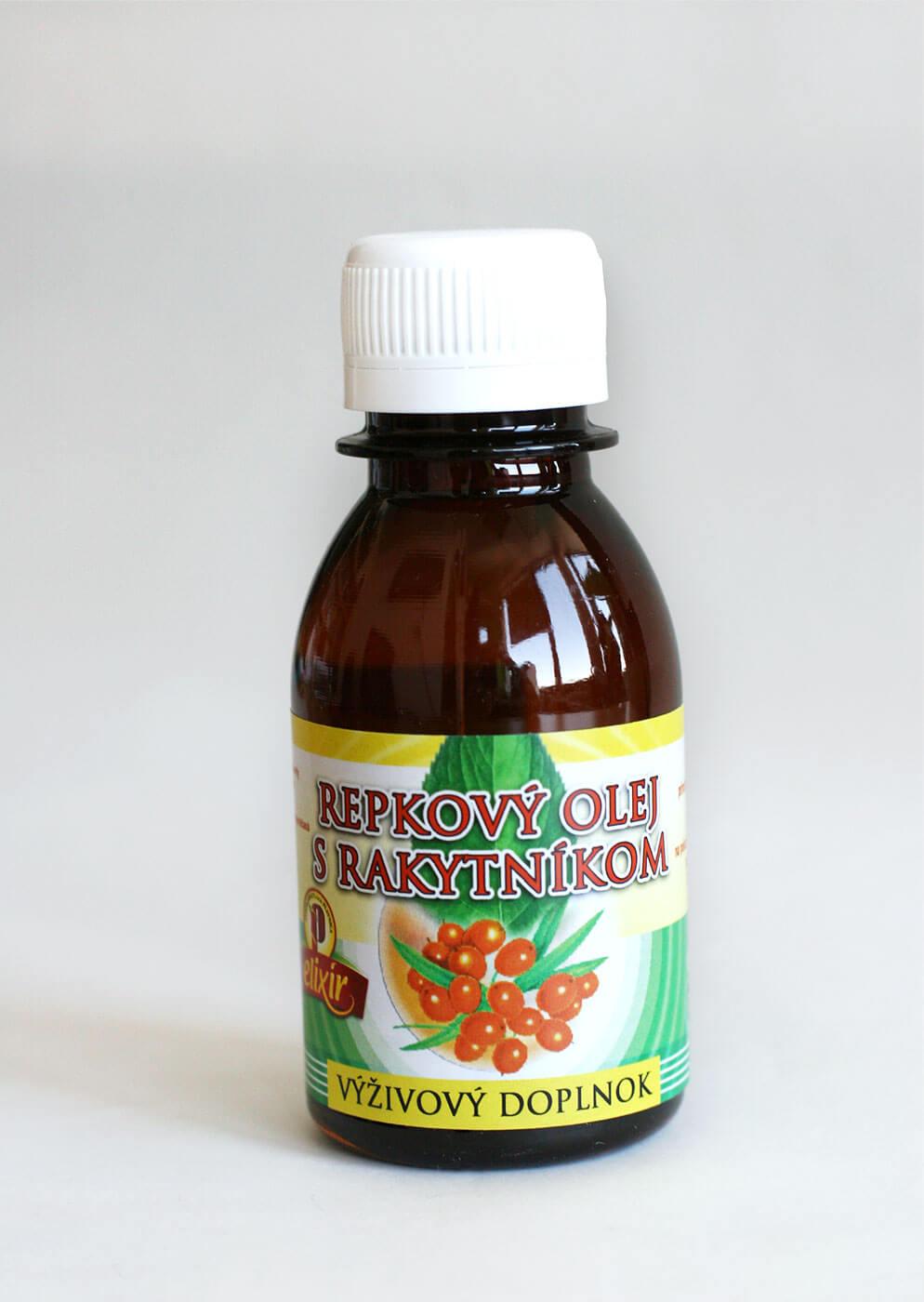 Rakytníkový olej - výživový doplnok (0,1l)
