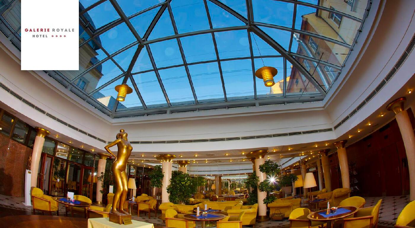Praha pre dvojicu v luxusnom Hoteli Galerie Royale**** s raňajkami aj cez víkendy