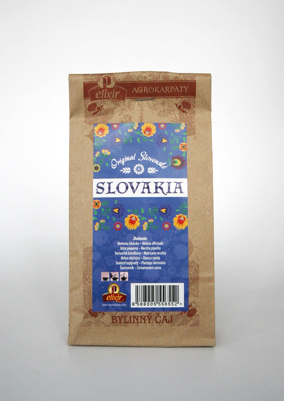 Agrokarpaty Slovakia sypaný čaj modrý (50 g)