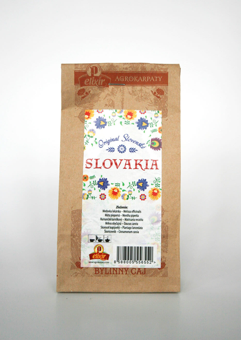 Agrokarpaty Slovakia sypaný čaj biely (50 g)
