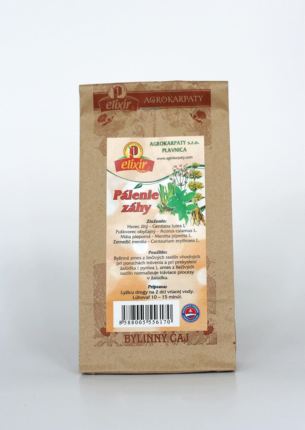 Agrokarpaty Elixír Pálenie záhy sypaný čaj (30 g)
