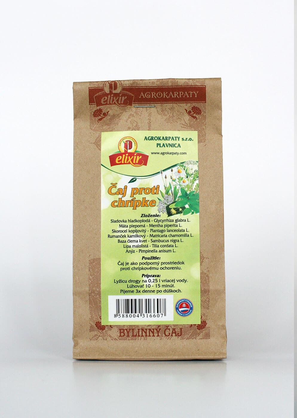 Agrokarpaty Elixír Proti chrípke sypaný čaj (30 g)