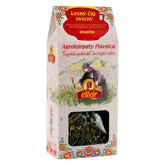 Agrokarpaty Babkin sypaný čaj Lesný - ovocný (30 g)