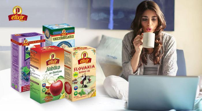 Kvalitné slovenské čaje Agrokarpaty