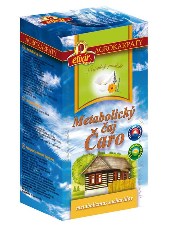 Agrokarpaty Čaj Čaro Metabolický (20 vreciek)