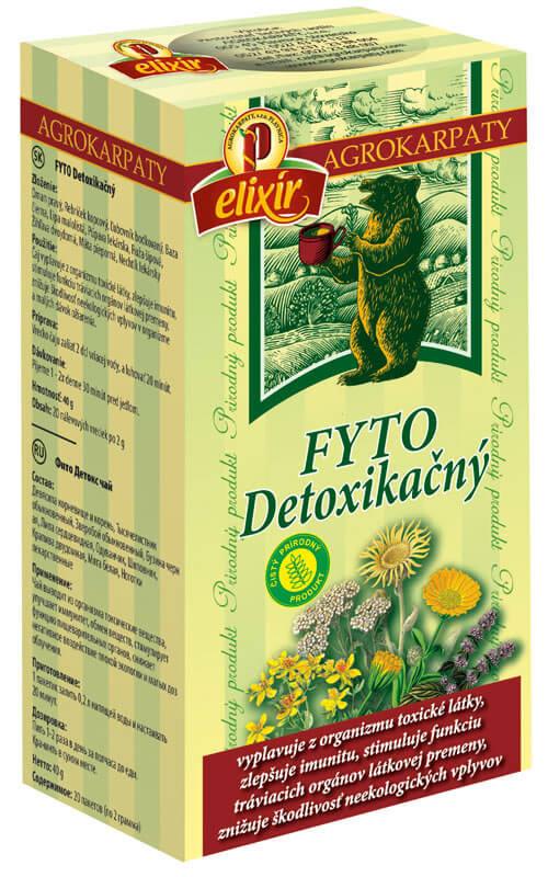 Agrokarpaty Čaj FYTO Detoxikačný z karpatských bylín (20 vreciek)