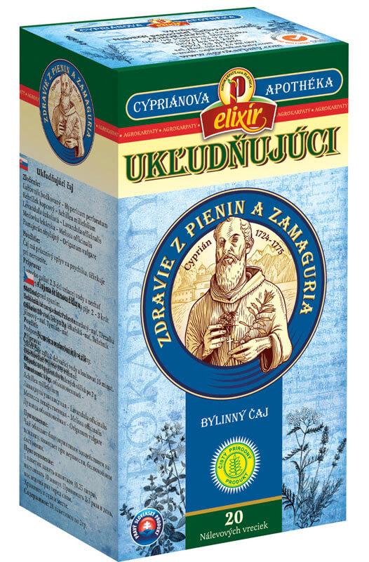 Agrokarpaty Cypriánova apothéka - Ukľudňujúci bylinný čaj (20 vreciek)