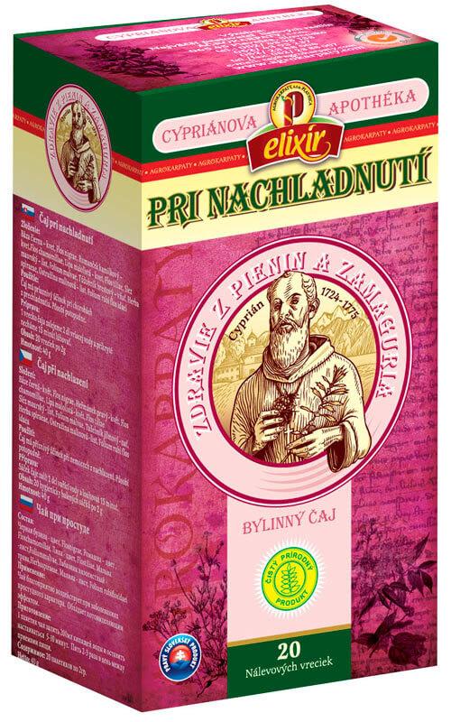 Agrokarpaty Cypriánova apothéka - bylinný čaj Pri nachladnutí (20 vreciek)