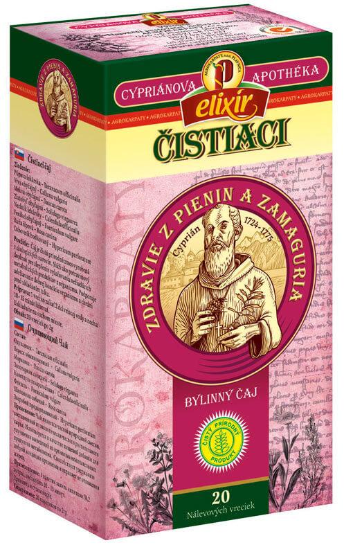 Agrokarpaty Cypriánova apothéka - Čistiaci bylinný čaj (20 vreciek)