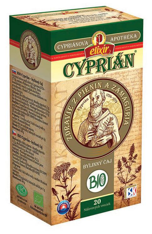Agrokarpaty Cypriánova apothéka - BIO Cyprián bylinný čaj (20 vreciek)