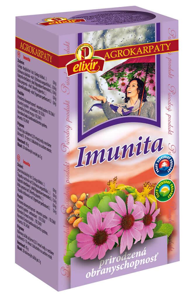 Agrokarpaty Čaj Imunita Echinofit (20 vreciek)
