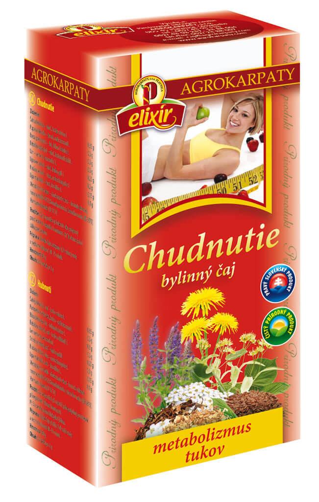 Agrokarpaty Čaj Chudnutie (20 vreciek)