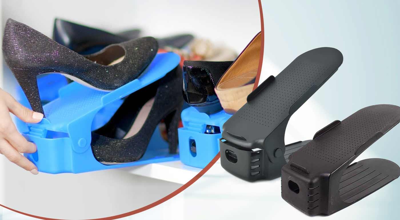 Organizér na topánky - praktický pomocník, ktorý šetrí miesto v skrini