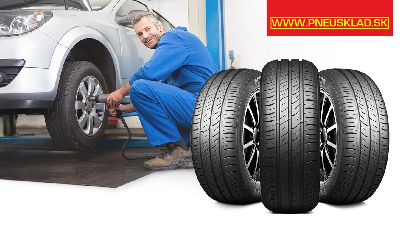 Jarné prezutie a uskladnenie pneumatík až do veľkosti 18 palcov v bratislavskom Pneusklade v Ružinove