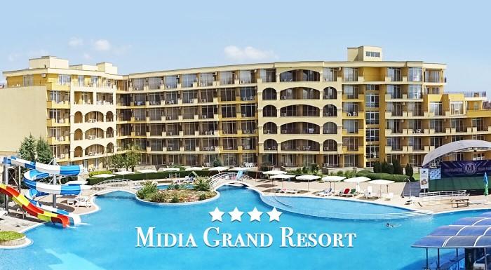 Oddych pri mori na krásnych pieskových plážach? Jedine v plne vybavenom apartmáne Midia Grand Resort**** v Bulharsku pri Čiernom mori! Na výber aj termíny v top sezóne!