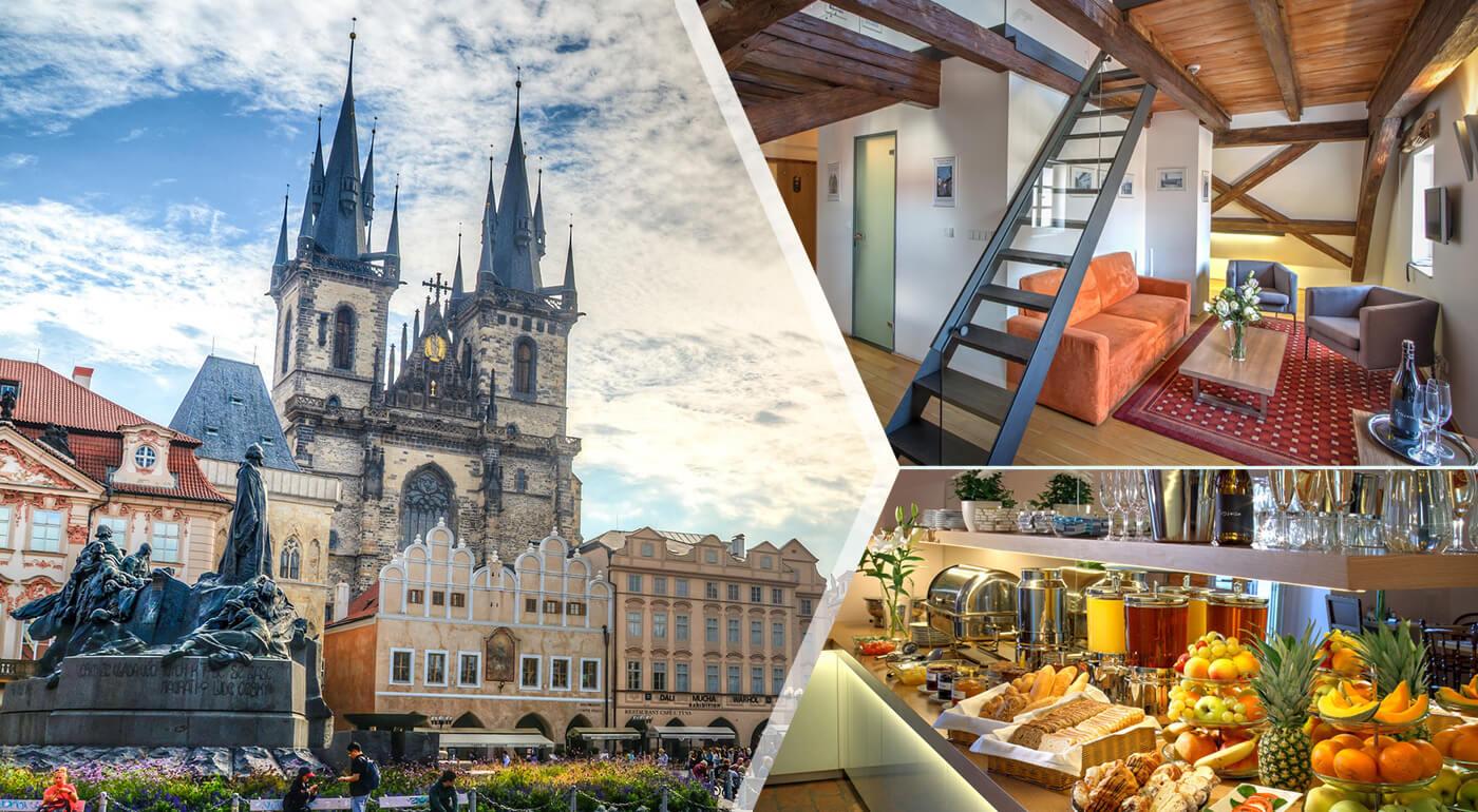 Praha s ubytovaním priamo v centre Starého mesta - pohodový pobyt v Hoteli Monastery****