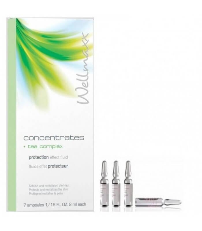 Wellmaxx Concentrates Tea Complex - pleťový koncentrát s komplexom čajov proti starnutiu 7x2ml
