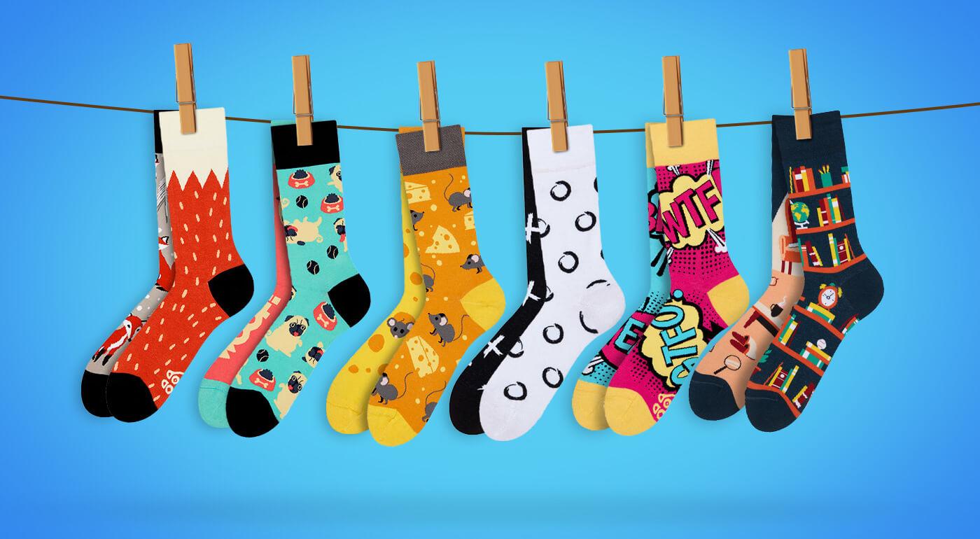 Výnimočné ponožky navrhnuté na Slovensku, ktoré rozjasnia váš deň