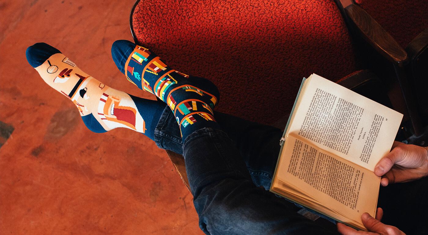 Veselé ponožky Good Mood od Dedoles - edícia Hobby