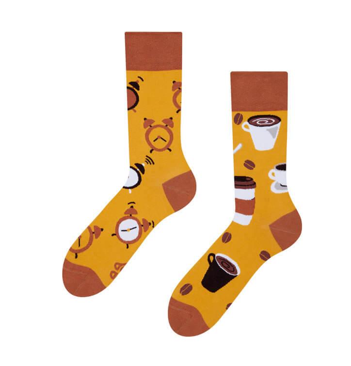 Good Mood ponožky Čas na kávu - veľkosť 35-38