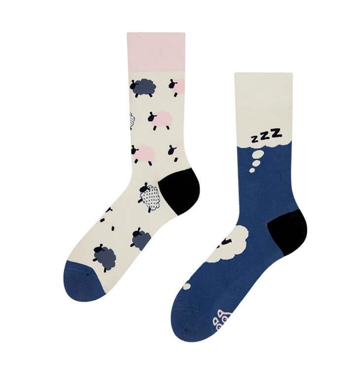 Good Mood ponožky Rátanie ovečiek - veľkosť 35-38