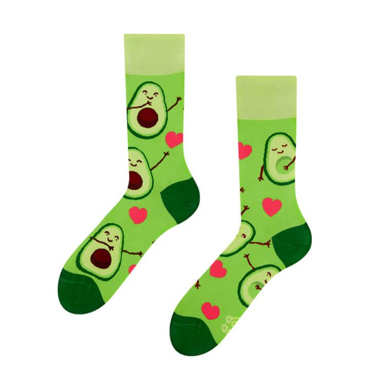 Good Mood ponožky Avokádová láska - veľkosť 35-38