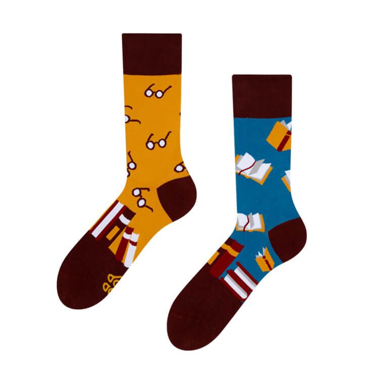 Good Mood ponožky Knihy - veľkosť 35-38