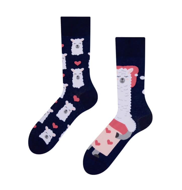 Good Mood ponožky Spiaca lama - veľkosť 35-38