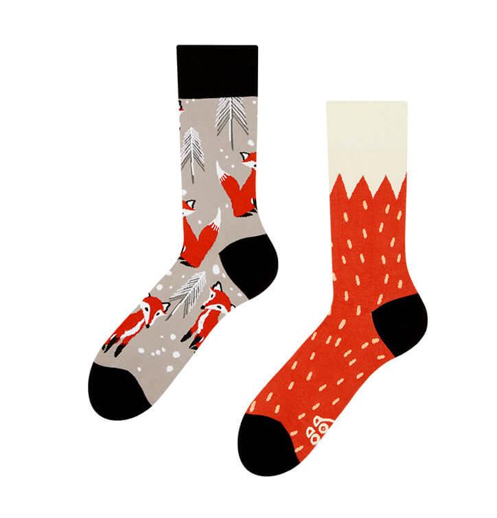 Good Mood ponožky Líška - veľkosť 35-38