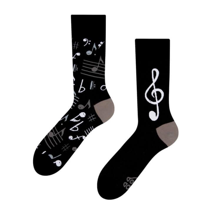 Good Mood ponožky Hudba - veľkosť 35-38