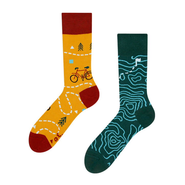 Good Mood ponožky Na trase - veľkosť 35-38