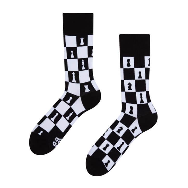 Good Mood ponožky Šach - veľkosť 35-38